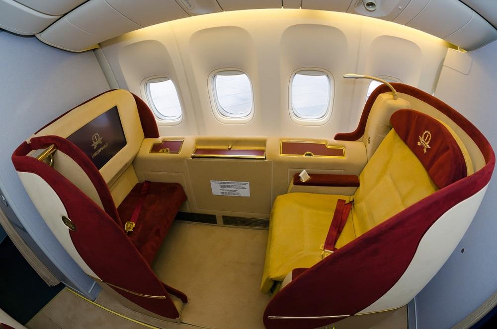 transaero first class