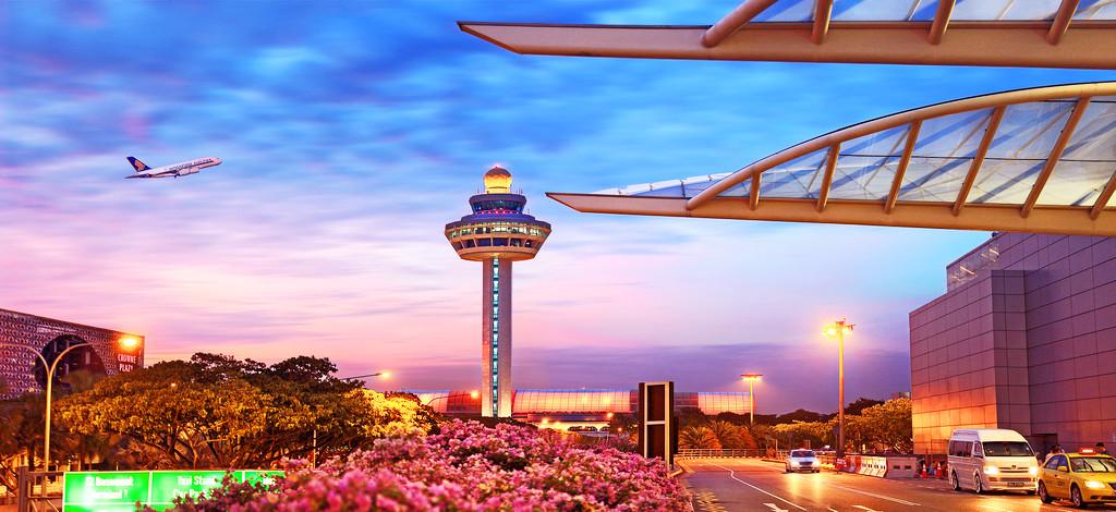 Ae`roport-CHangi-Singapur