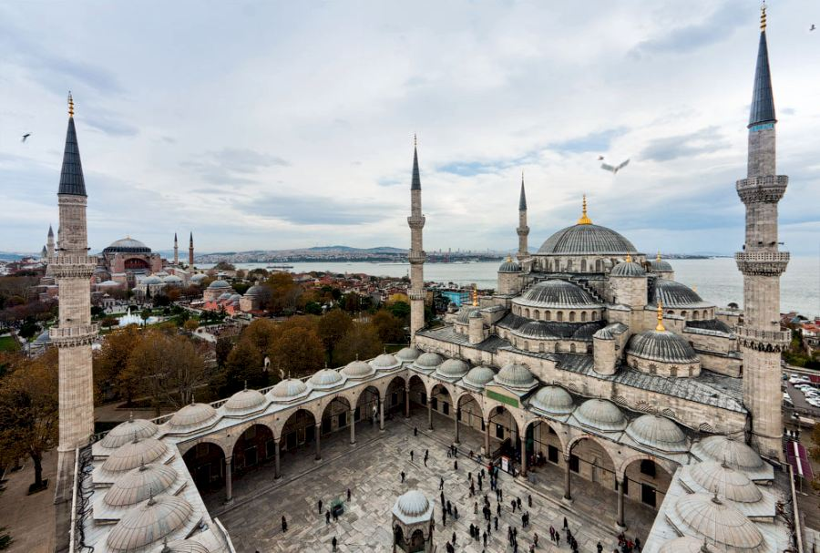 Istanbul-mosquee-bleue