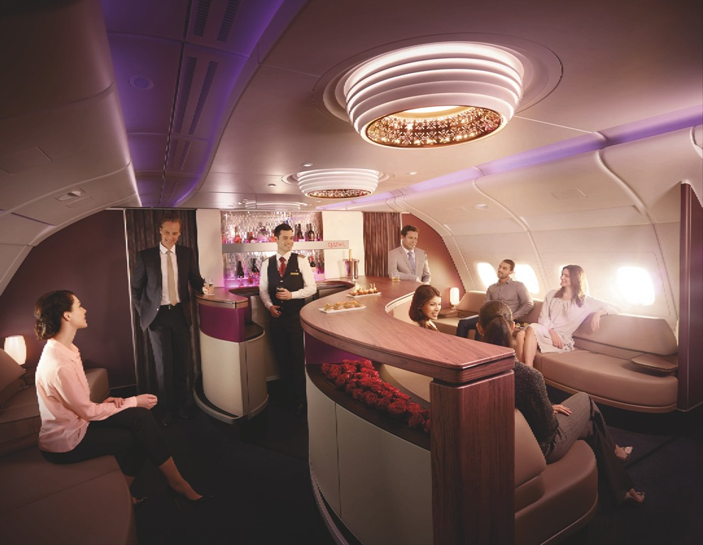 Qatar-Airways-Airbus-A380-First-Class-Business-Class-Lounge