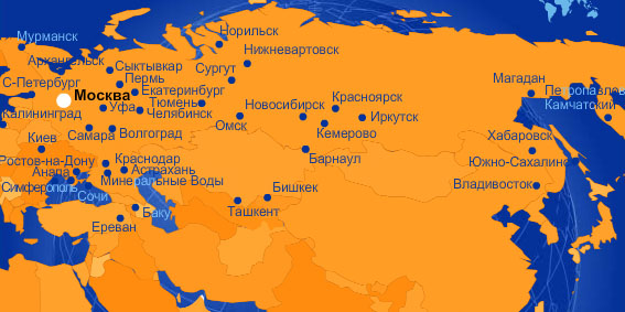 aeroflot_russia_map
