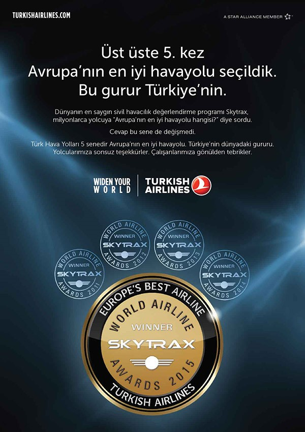 награда Turkish Airlines