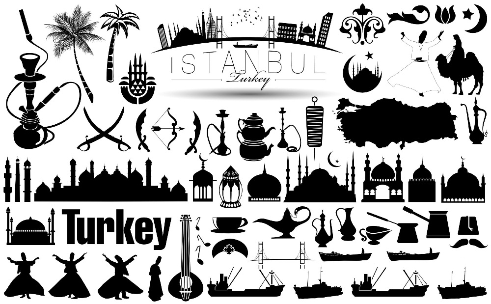 turkey_istanbul_vector_icons